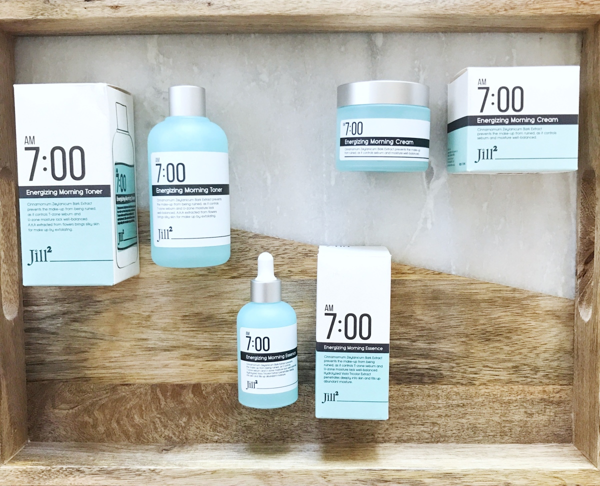 Jill2 7:00 am Energizing Morning line review, shopping with Althea Korea and HexyleneGlycol